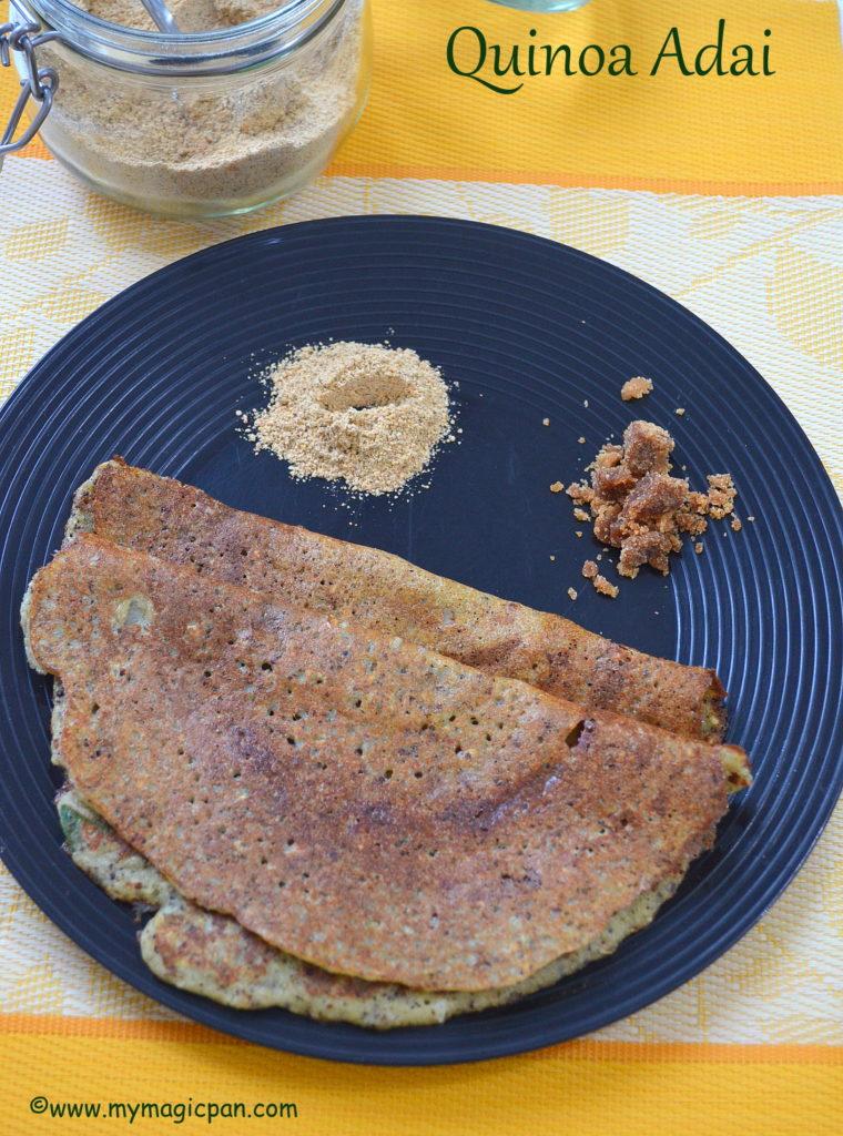 Quinoa Adai My Magic Pan