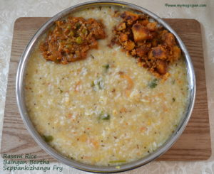 Comforting rasam lunch menu