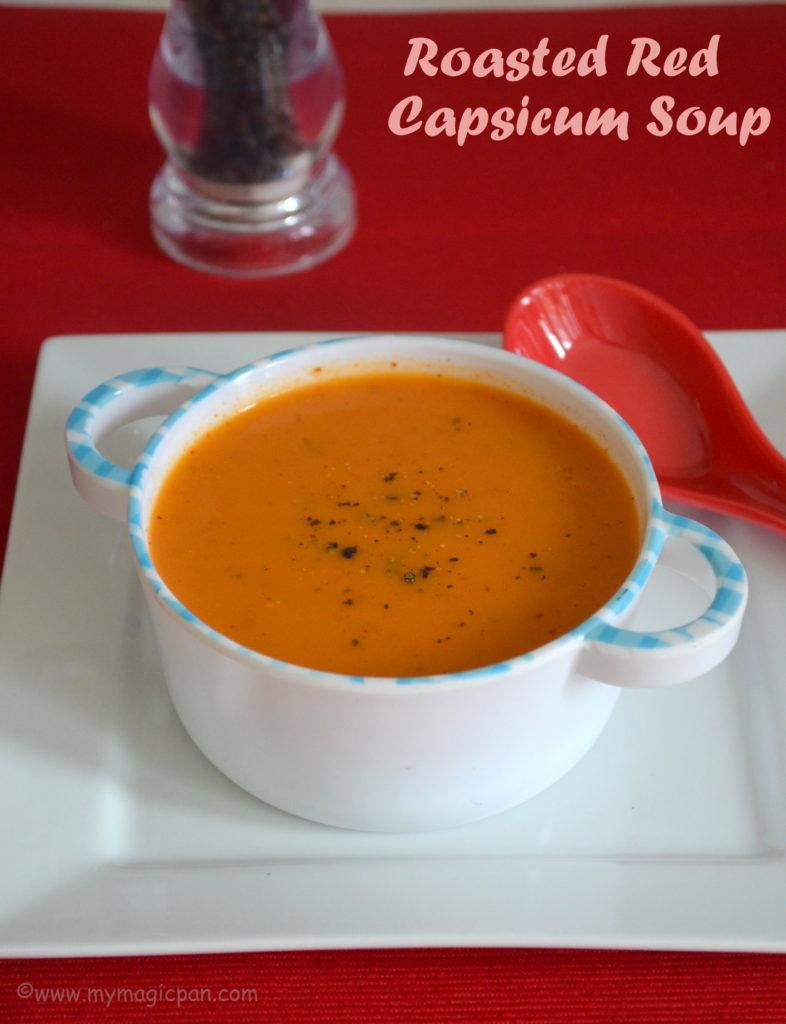 Red Capsicum Soup My Magic Pan