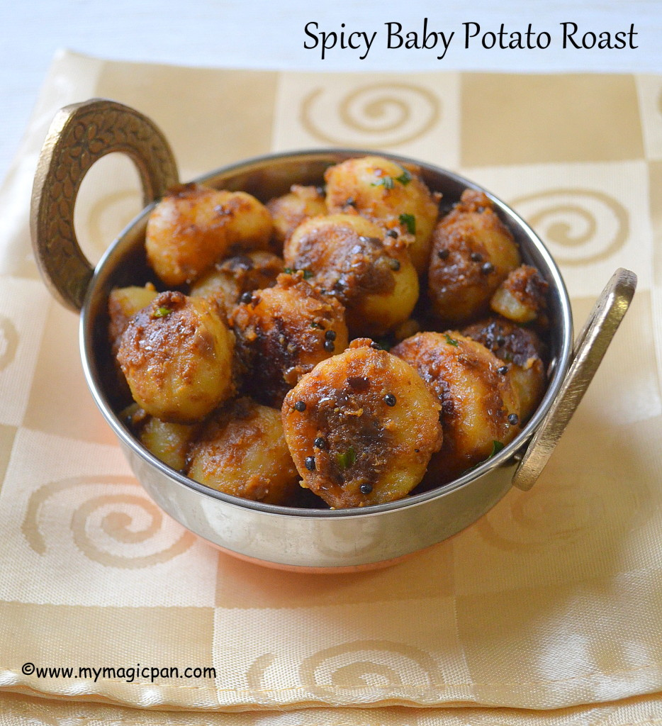Spicy Baby Potato Roast My Magic Pan