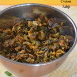 Spring Onion Sabji - Hari Pyaaz Sabzi