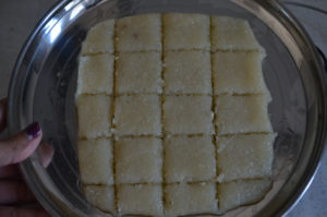 Coconut Burfi My Magic Pan
