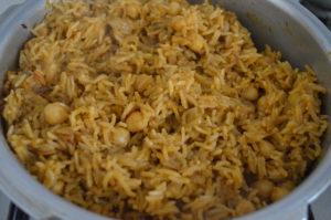 Chana Biryani My Magic Pan