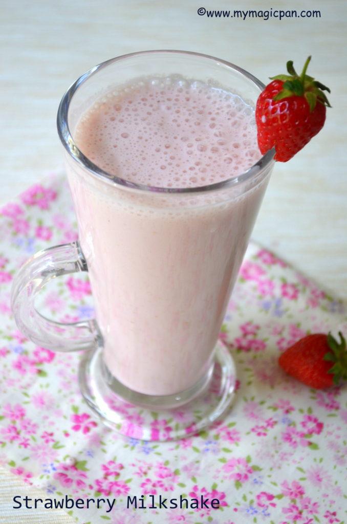 Strawberry Milkshake My Magic Pan