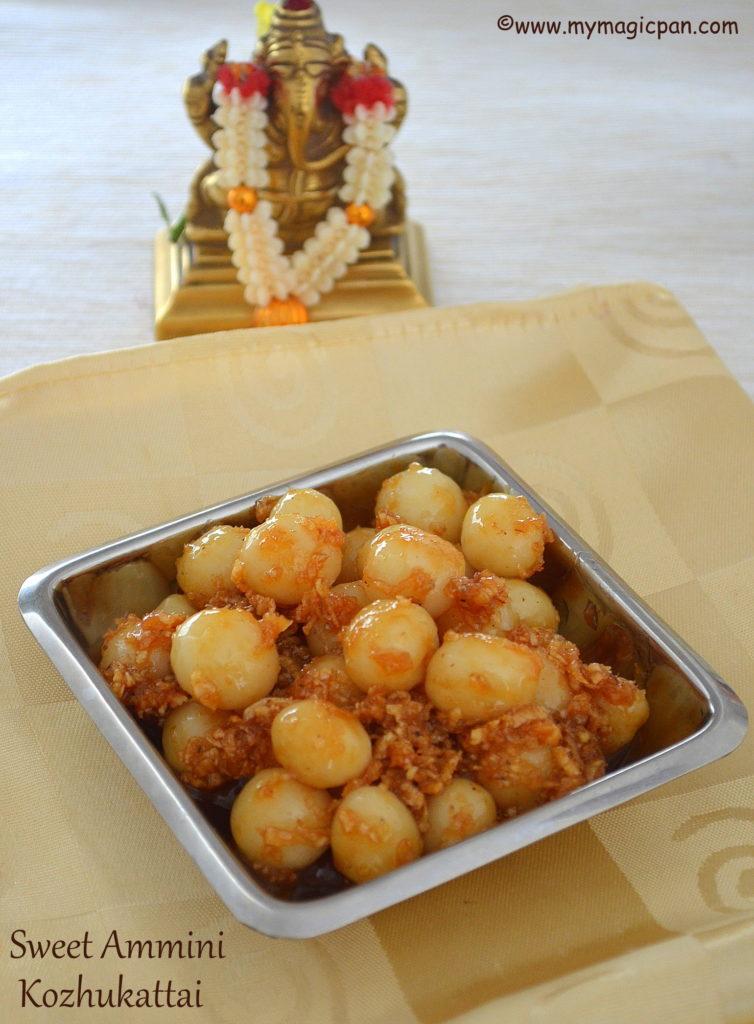 Sweet Ammini Kozhukattai My Magic Pan