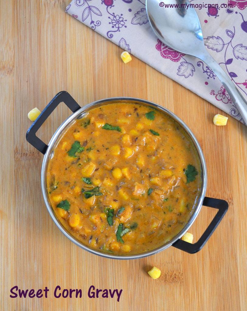Sweet Corn Gravy My Magic Pan