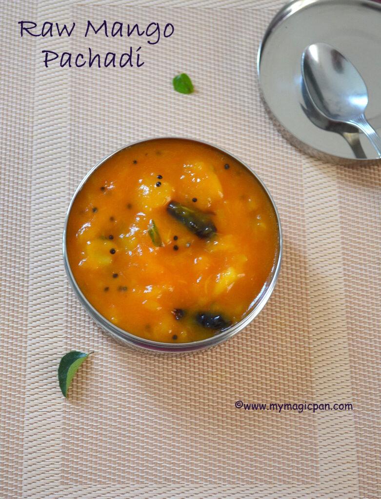Raw Mango Sweet Pacahdi My Magic Pan