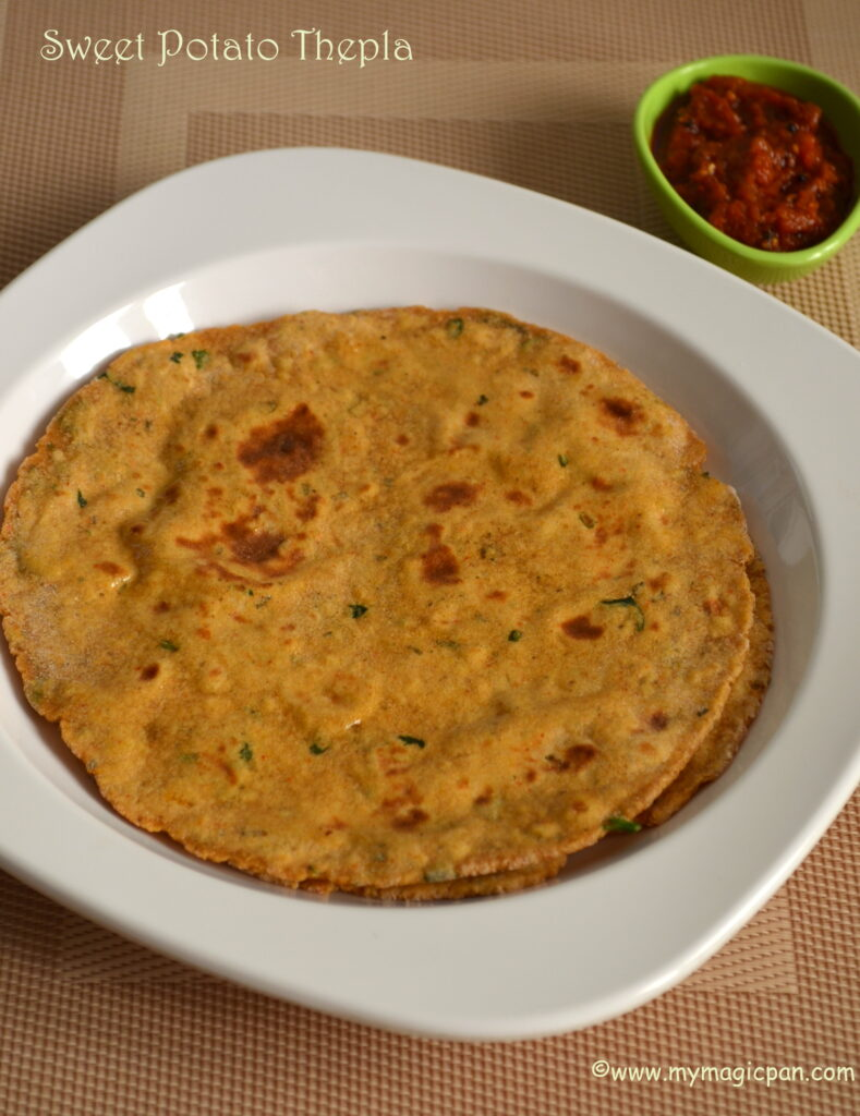 Sweet Potato Paratha My Magic Pan