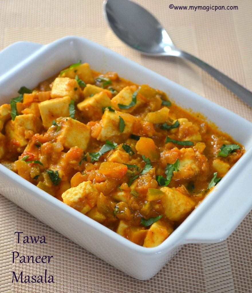 Tawa Paneer Masala My Magic Pan