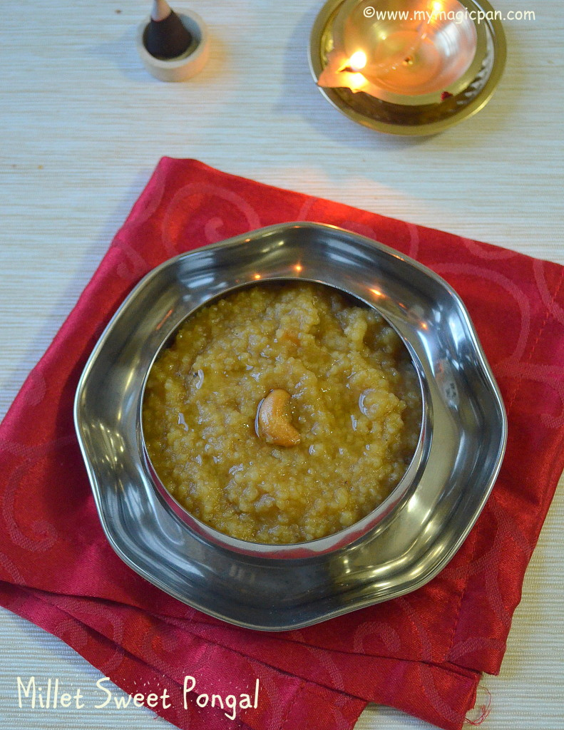 Varagu Sakkarai Pongal My Magic Pan