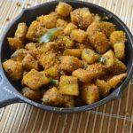 Vazhakkai Podi Curry - Raw Banana Poriyal