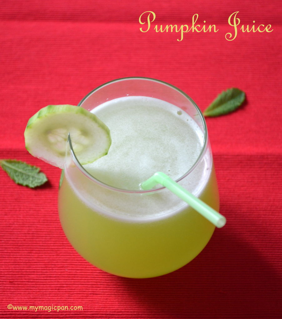 Ash Gourd Juice My Magic Pan