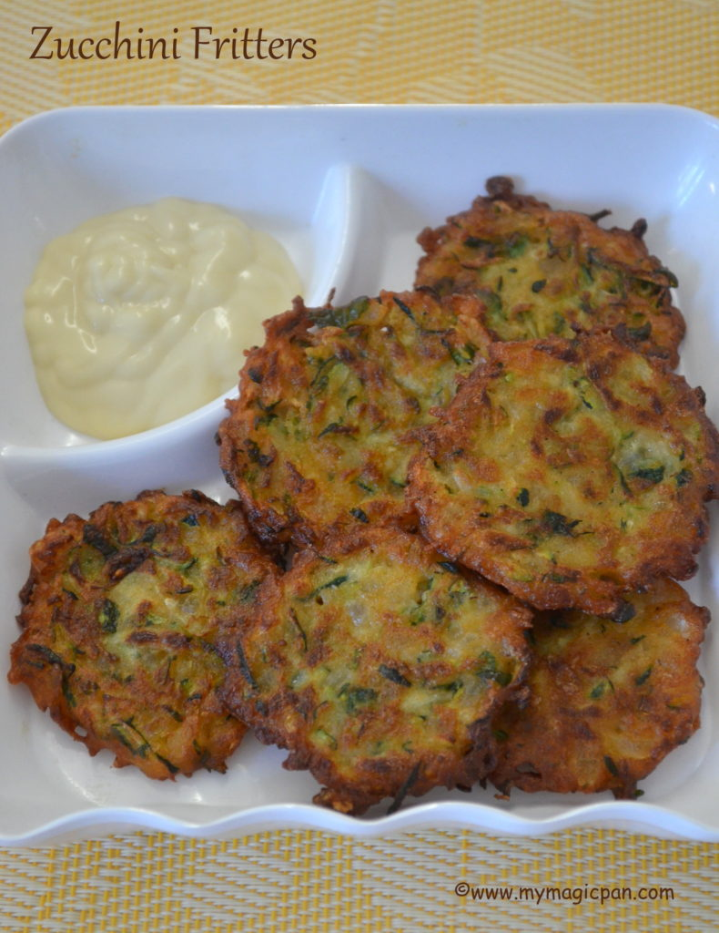 Zucchini Fritters My Magic Pan