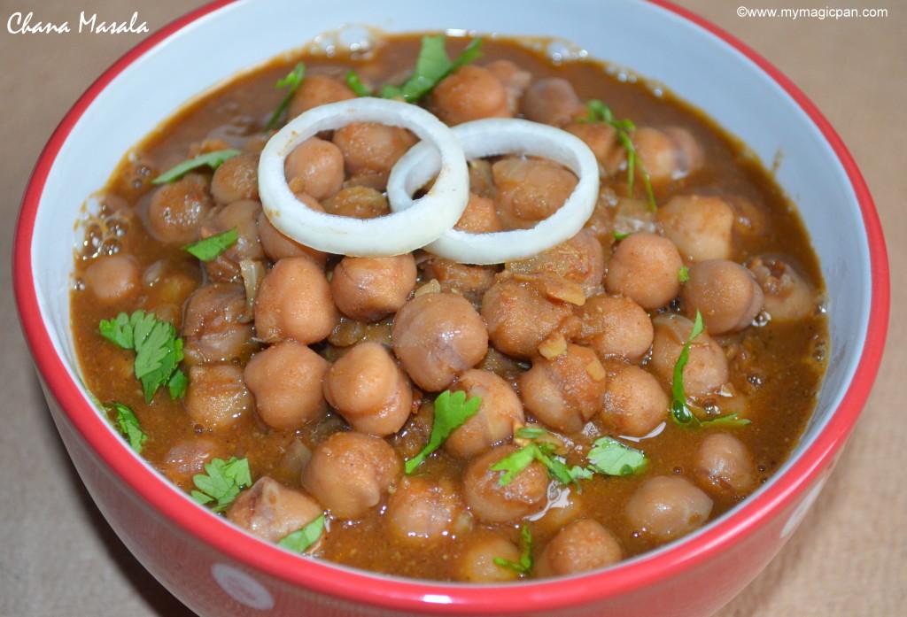 Chana Masala My Magic Pan