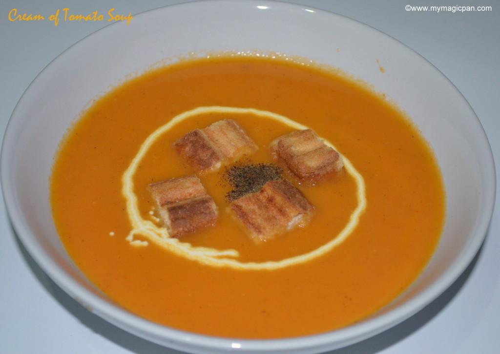 Cream of Tomato Soup My Magic Pan