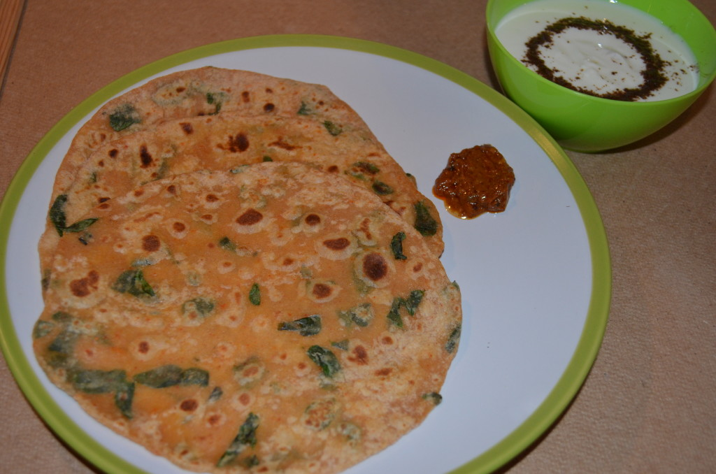 Methi Roti My Magic Pan