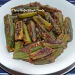Spicy Stuffed Bhindi Masala