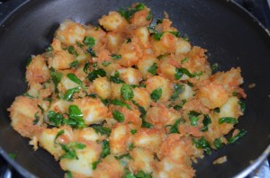 Aloo Methi Sabji My Magic Pan