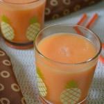 Muskmelon Smoothie - Cantaloupe Smoothie