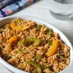 Capsicum Rice - Capsicum Masala Rice