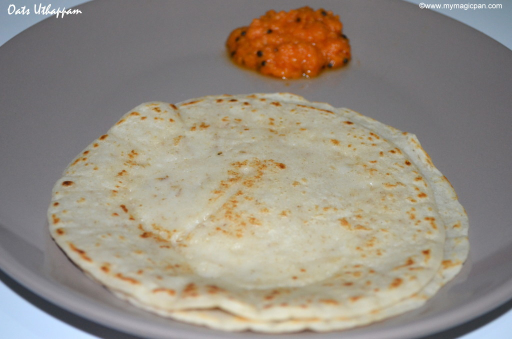 Oats Uthappam My Magic Pan