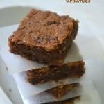 Coffee Walnut Brownies - Eggless Brownies