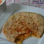 Cheese and Onion Paratha