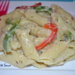 White Sauce Pasta - Pasta in White Sauce