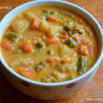 Veg Kurma - Mixed Vegetable Kurma