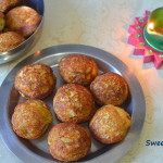 Sweet Kuzhi Paniyaram - Sweet Appam (with rava)