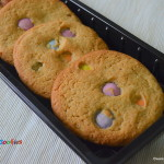 M&M Cookies - Smarties Cookies