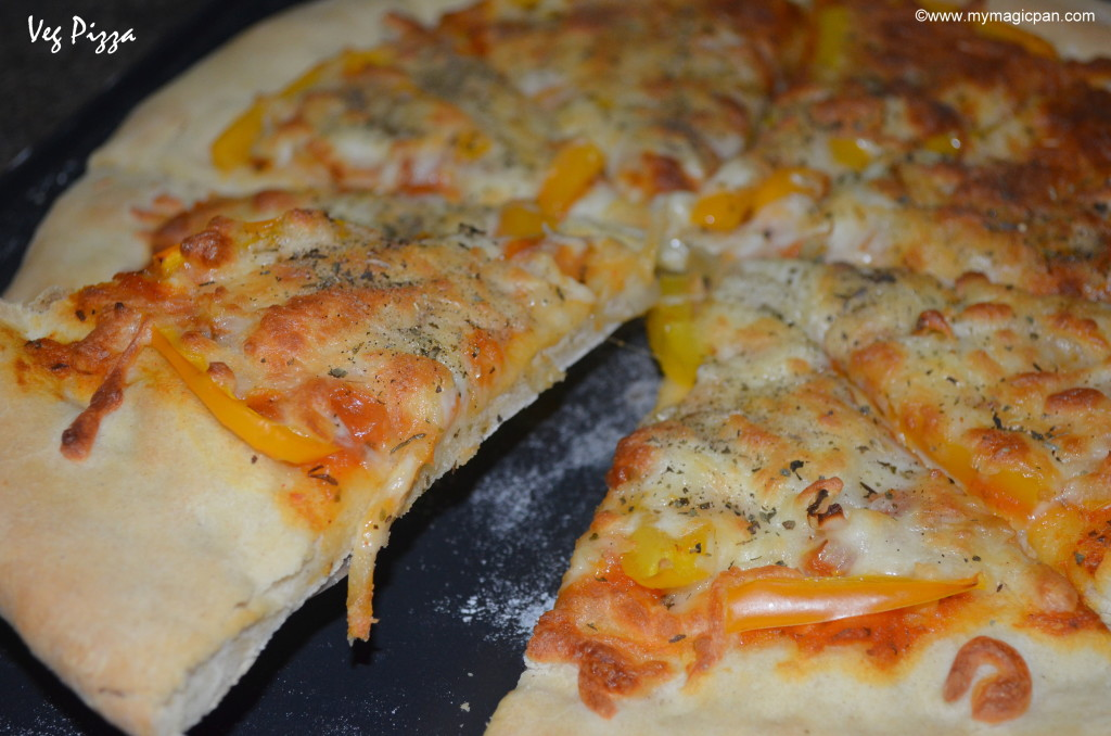 Homemade Veg Pizza My Magic Pan